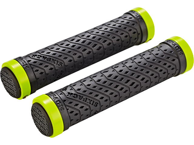 Sixpack K-Trix Lock-On Griffe schwarz/neon-gelb matt